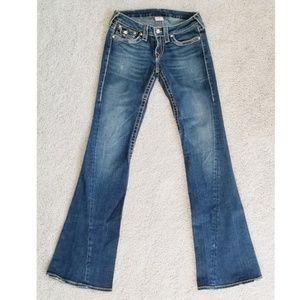 True Religion Disco Joey Twisted Seam Jeans